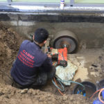 Betonboringen sanitair waterleidingen