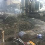 Betonboringen wegenwerken