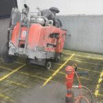 Zaagmachine voor vloerzagen