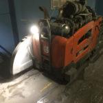 Vloerzagen in oud beton of asfalt is geen enkel probleem